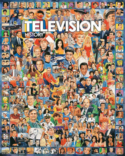 """""""Television History"""" 1000 Piece Jigsaw Puzzle 
