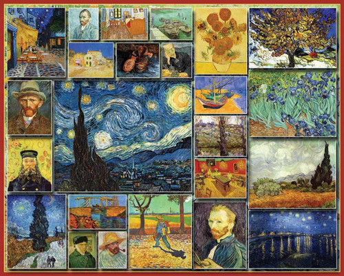 """""""Great Painters - Van Gogh"""" 1000 Piece Jigsaw Puzzle 