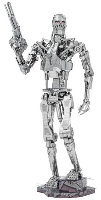 """The Terminator T-800 Endoskeleton"" Metal Model Kit | Metal Earth"