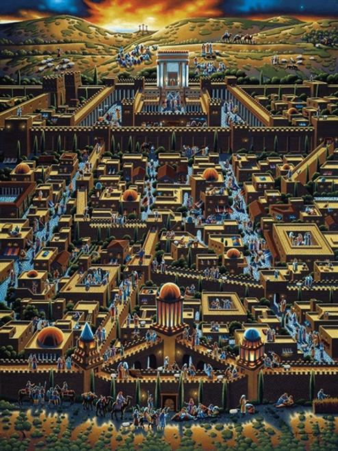 """Jerusalem"" 500 Piece Jigsaw Puzzle | Dowdle"