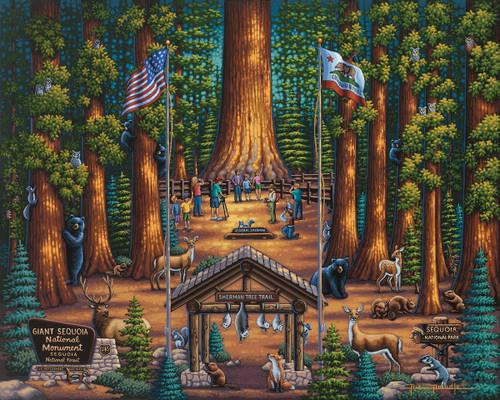 """Sequoia National Park"" 500 Piece Jigsaw Puzzle | Dowdle"