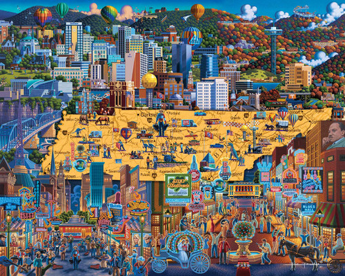 """""""Best of Tennessee"""" 500 Piece Jigsaw Puzzle 