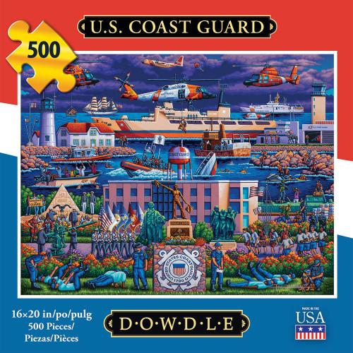 """US Coast Guard"" 500 Piece Jigsaw Puzzle | Dowdle"
