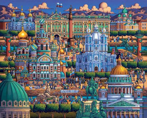 """St Petersburg"" 1000 Piece Jigsaw Puzzle | Dowdle"