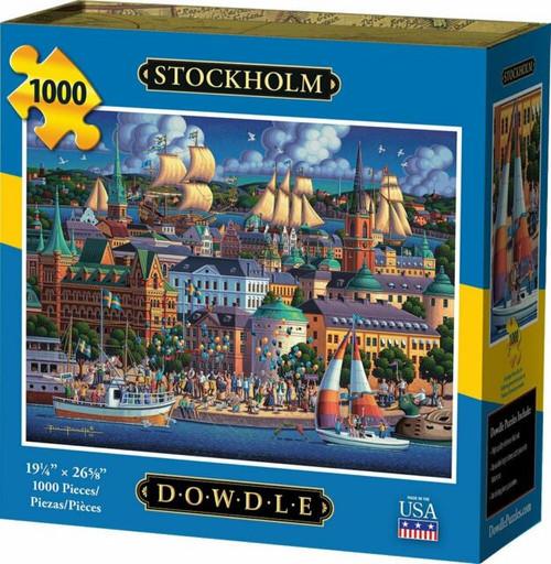 """Stockholm"" 1000 Piece Jigsaw Puzzle | Dowdle"