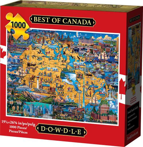"""Best of Canada"" 1000 Piece Jigsaw Puzzle | Dowdle"