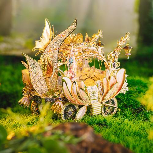 """Fairy's Carriage"" *Fairy Series* Metal Model Kit | MU Model"