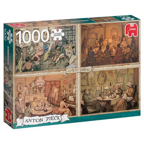 """Living Room Entertainment"" 1000 Piece Jigsaw Puzzle   Jumbo"