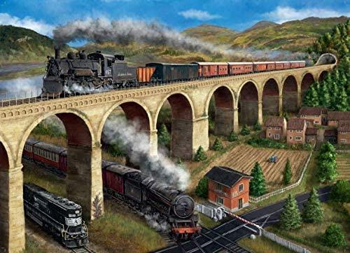 """The Viaduct"" 1000 Piece Jigsaw Puzzle | Falcon de luxe"