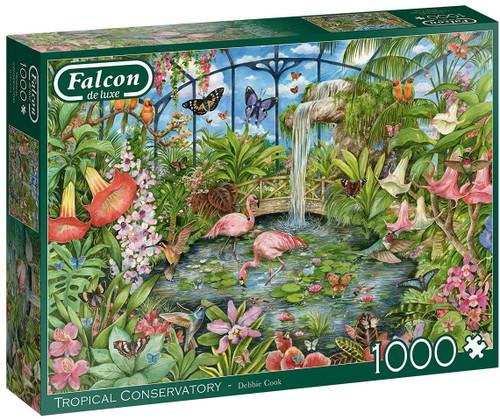 """Tropical Conservatory"" 1000 Piece Jigsaw Puzzle | Falcon de luxe"