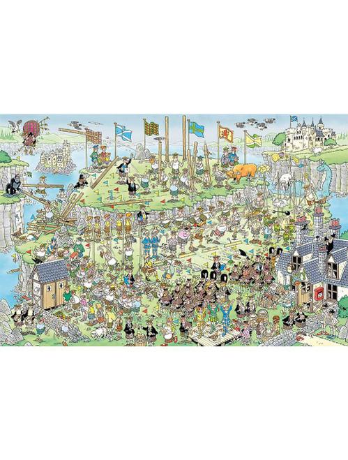 """Highland Games"" JVH 1500 Piece Jigsaw Puzzle | Jumbo"