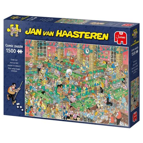 """Chalk Up!"" JVH 1500 Piece Jigsaw Puzzle | Jumbo"