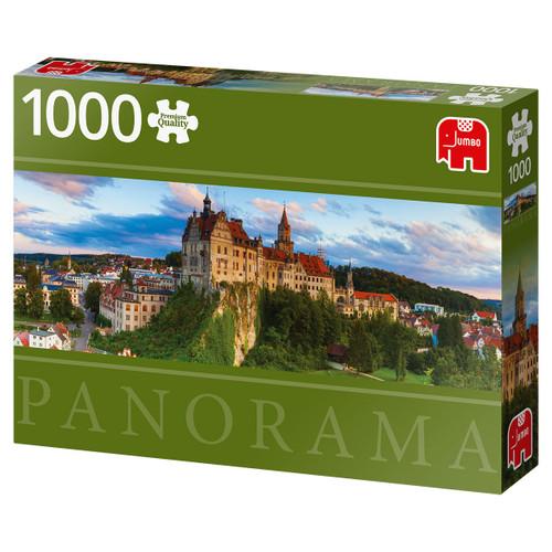 """Sigmaringen Castle"" 1000 Piece *Panorama* Jigsaw Puzzle   Jumbo"