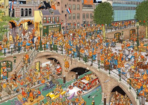 """Kingsday"" JVH 1000 Piece Jigsaw Puzzle | Jumbo"