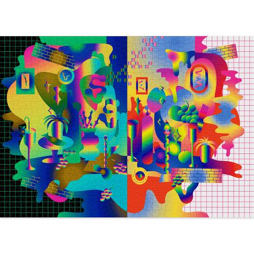 """Chromatic"" 1000 Piece Jigsaw Puzzle | Cloudberries"