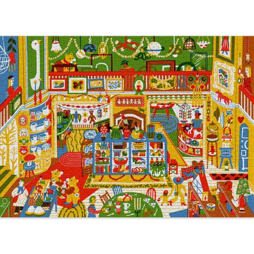 """Curiosities"" 1000 Piece Jigsaw Puzzle | Cloudberries"