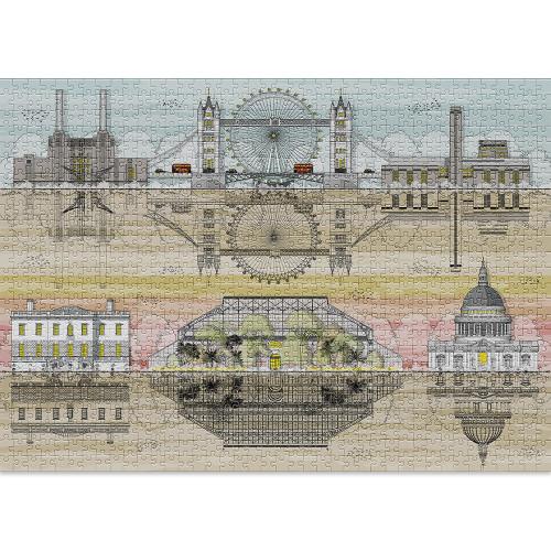 """London"" 1000 Piece Jigsaw Puzzle | Cloudberries"