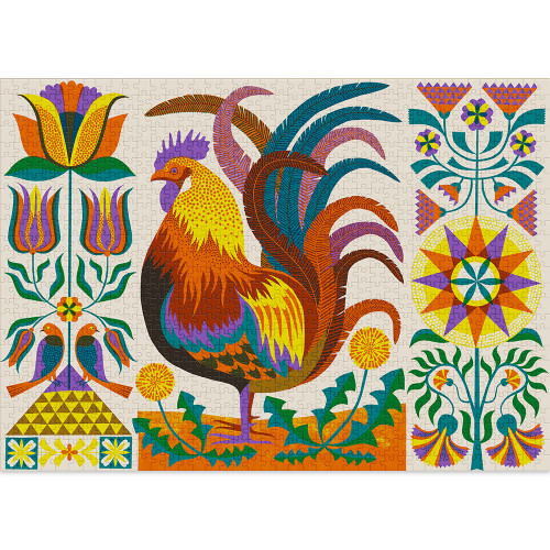 """""""Rooster"""" 1000 Piece Jigsaw Puzzle 