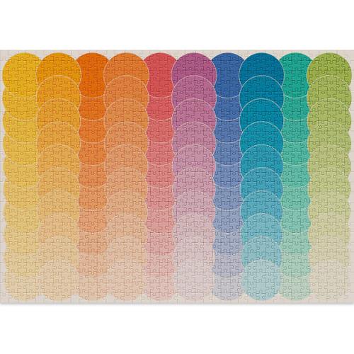 """Waves"" 1000 Piece Jigsaw Puzzle | Cloudberries"