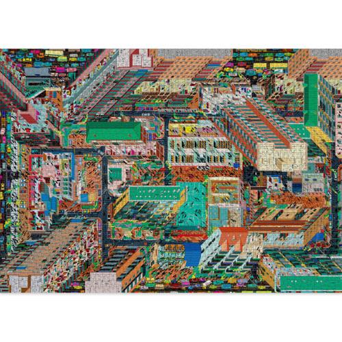 """Metropolis"" 2000 Piece Jigsaw Puzzle | Cloudberries"