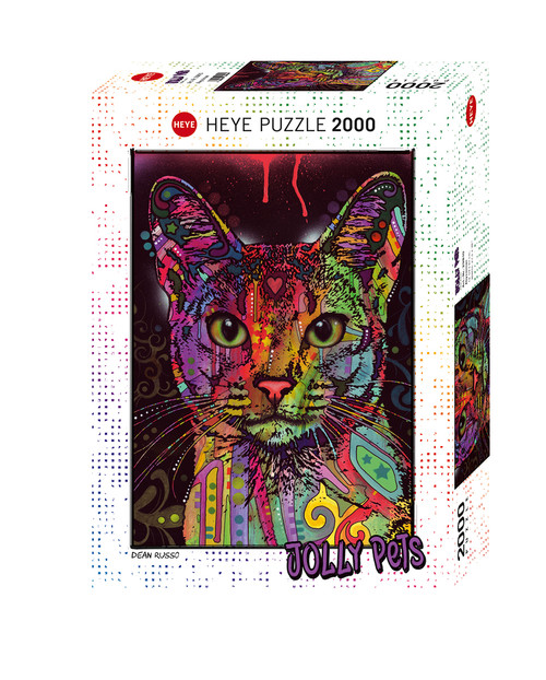 """""""Abyssinian"""" 2000 Piece Jigsaw Puzzle   Heye"""