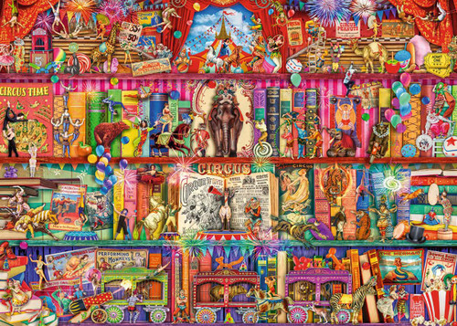 """""""The Greatest Show On Earth"""" 1000 Piece Jigsaw Puzzle 