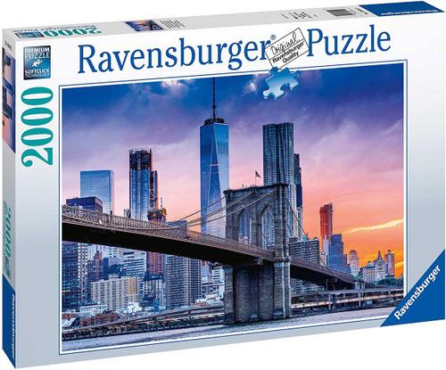 """Skyline New York"" 2000 Piece Jigsaw Puzzle   Ravensburger"