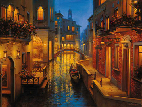 """""""Waters of Venice"""" 1500 Piece Jigsaw Puzzle 