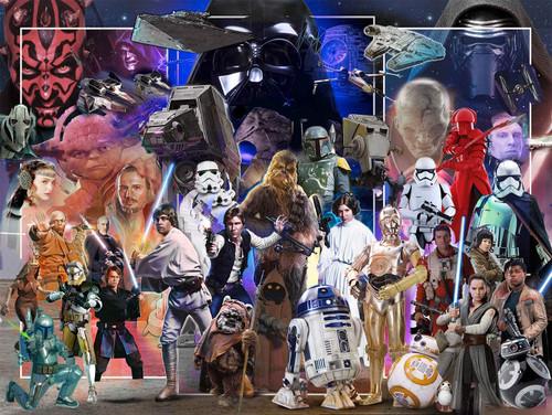 """Star Wars Whole Universe"" 1500 Piece Jigsaw Puzzle | Ravensburger"