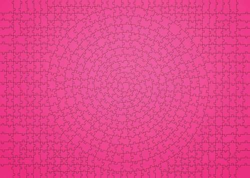 """Krypt: Pink"" 654 Piece Jigsaw Puzzle | Ravensburger"