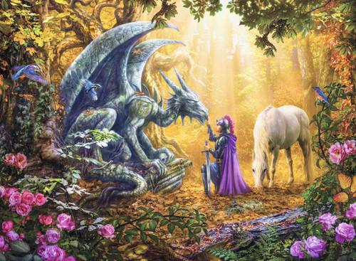 """Dragon Whisperer"" 500 Piece Jigsaw Puzzle | Ravensburger"