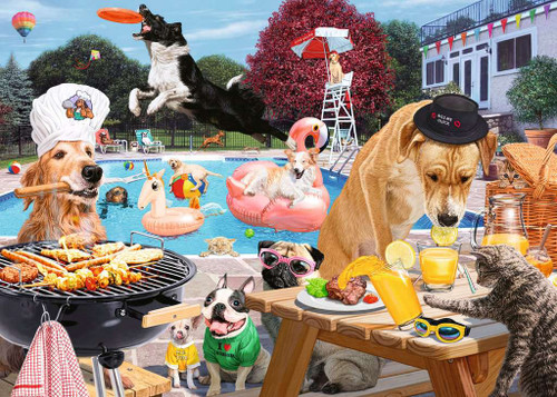 """Dog Days of Summer"" 1000 Piece Jigsaw Puzzle | Ravensburger"