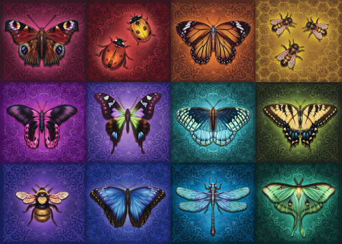 """""""Winged Things"""" 1000 Piece Jigsaw Puzzle 