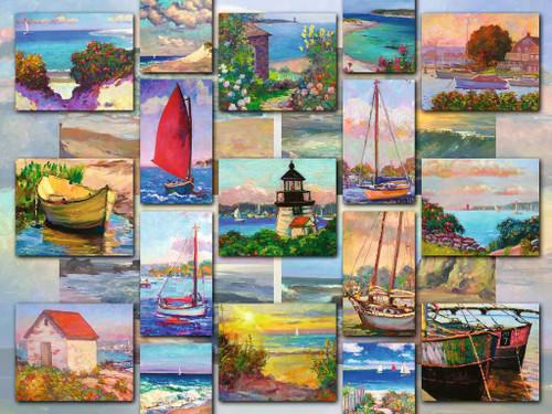 """Coastal Collage"" 1500 Piece Jigsaw Puzzle | Ravensburger"