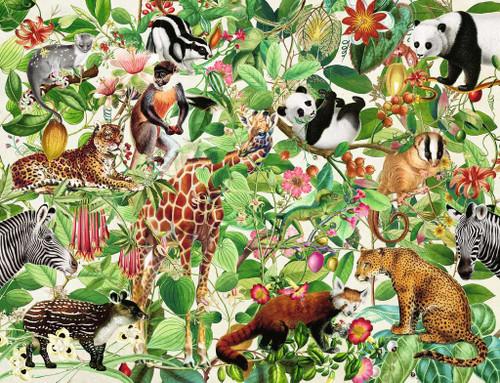 """Jungle"" 2000 Piece Jigsaw Puzzle | Ravensburger"