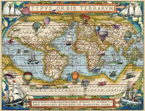 """Around the World"" 2000 Piece Jigsaw Puzzle | Ravensburger"