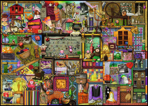"""""""The Craft Cupboard"""" 1000 Piece Jigsaw Puzzle 