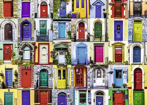 """Doors of the World"" 1000 Piece Jigsaw Puzzle | Ravensburger"
