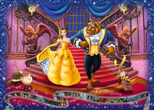 """""""Beauty and the Beast"""" 1000 Piece Jigsaw Puzzle 