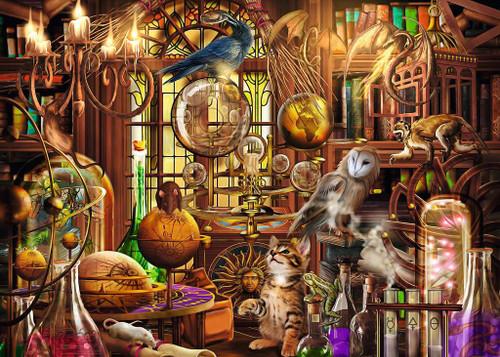 """Merlin's Laboratory"" 1000 Piece Jigsaw Puzzle | Ravensburger"