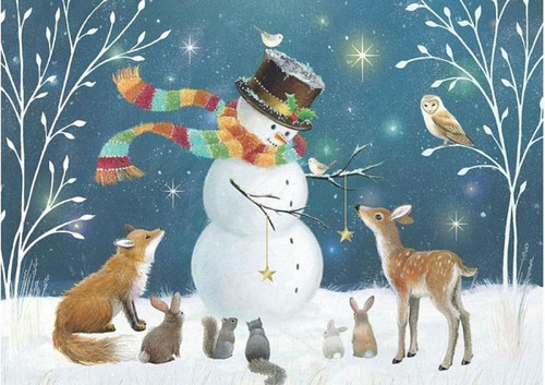 """""""Snowman And His Friends"""" 500 Piece Jigsaw Puzzle 