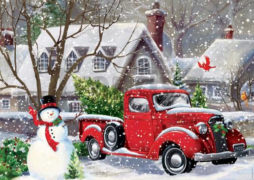"""Christmas Houses"" 500 Piece Jigsaw Puzzle | Educa"