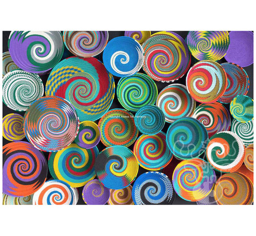 """African Baskets"" 1000 Piece Jigsaw Puzzle | Educa"