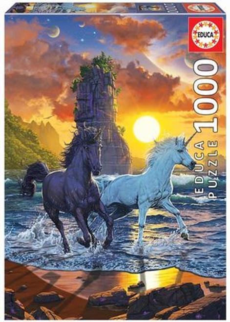 """Unicorns On The Beach"" 1000 Piece Jigsaw Puzzle   Educa"