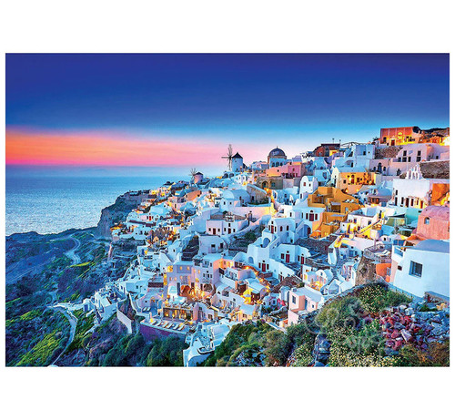 """Santorini"" 1500 Piece Jigsaw Puzzle | Educa"
