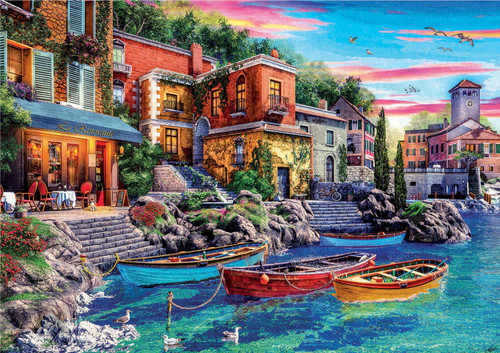 """Sunset in Como"" 3000 Piece Jigsaw Puzzle | Educa"