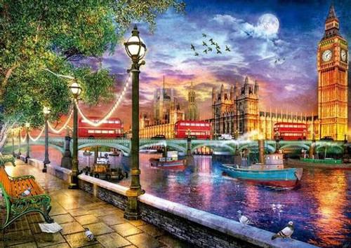 """London at Sunset"" 2000 Piece Jigsaw Puzzle | Educa"