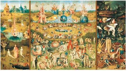 """""""The Garden of Earthly Delights"""" 9000 Piece Jigsaw Puzzle 