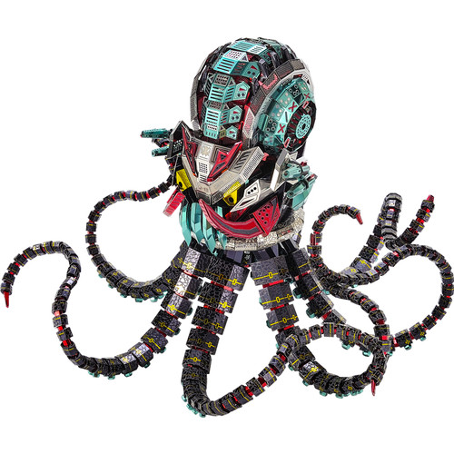 """Octopus Devil"" *Expert* Metal Model Kit | Microworld"