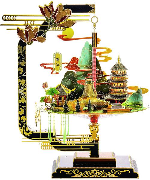 """West Lake"" Zhejiang Province China - Metal Model Kit | Microworld"